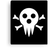 Lord Death Jolly Roger  Canvas Print