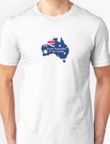 Team Australia - F*%K Yeah Unisex T-Shirt