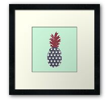 patriot pinnaple Framed Print