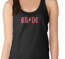 Bride Tank or Racerback - ACDC Style Women's Tank Top