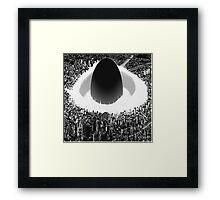 Akira explosion Framed Print