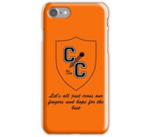 Chudley Cannons Logo with Motto iPhone Case/Skin