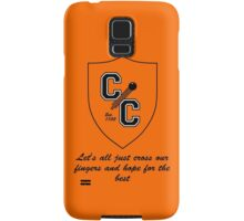 Chudley Cannons Logo with Motto Samsung Galaxy Case/Skin