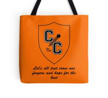 Chudley Cannons Logo with Motto Tote Bag