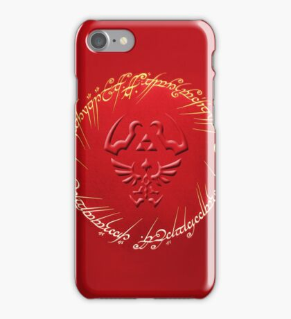 Ring Of Triforce iPhone Case/Skin