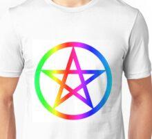 Rainbow Wicca Unisex T-Shirt