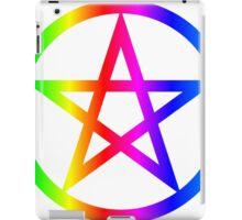 Rainbow Wicca iPad Case/Skin