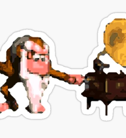 Donkey Kong Country - Cranky's Phonograph Sticker