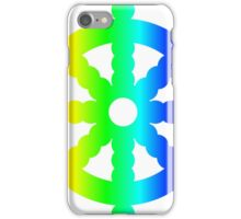 Rainbow Wheel Of Dharma iPhone Case/Skin