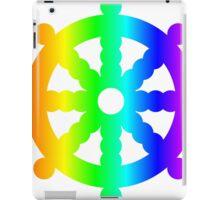 Rainbow Wheel Of Dharma iPad Case/Skin