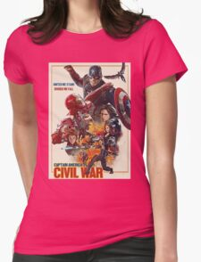 CAPTAIN AMERICA Womens Fitted T-Shirt
