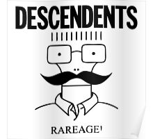 The Descendents Rareage Poster