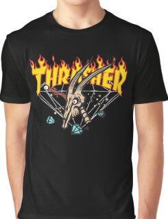 Thrasher Diamond Supply Graphic T-Shirt