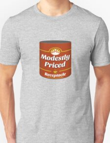 Modestly Priced Receptacle T-Shirt