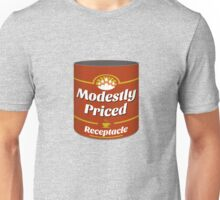 Modestly Priced Receptacle Unisex T-Shirt