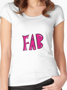FAB! Women's Fitted Scoop T-Shirt