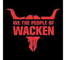 People of Wacken Photographic Print