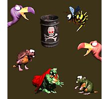 Donkey Kong Country - Bosses Photographic Print