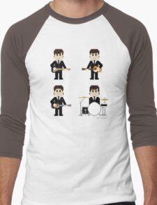 8-Bit Fab Four Men's Baseball ¾ T-Shirt