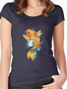 koi Women's Fitted Scoop T-Shirt
