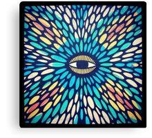 Eye of charm Canvas Print