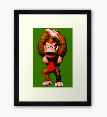 Donkey Kong Country - Cheer Framed Print