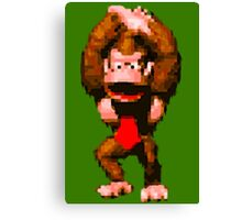 Donkey Kong Country - Cheer Canvas Print