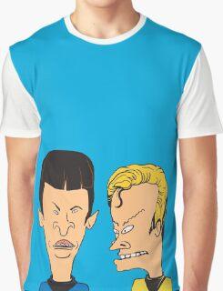 Star Trek - Beavis and Butthead Parody Graphic T-Shirt