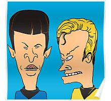 Star Trek - Beavis and Butthead Parody Poster
