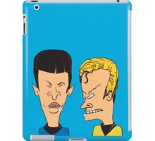 Star Trek - Beavis and Butthead Parody iPad Case/Skin