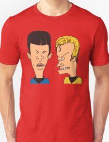 Star Trek - Beavis and Butthead Parody Unisex T-Shirt