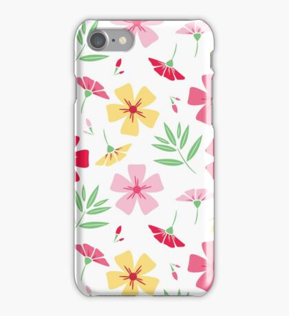Blooming summer iPhone Case/Skin