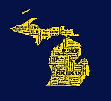 Michigan cities by amgraphics
