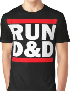 Run Dungeons and Dragons Graphic T-Shirt