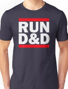 Run Dungeons and Dragons Unisex T-Shirt