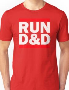 Run Dungeons and Dragons Unisex T-Shirt