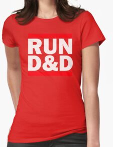 Run Dungeons and Dragons Womens Fitted T-Shirt