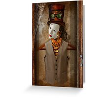 Skeleton In The Closet Greeting Card