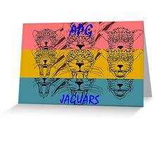 APG Jaguars 2016 Tri Color Greeting Card