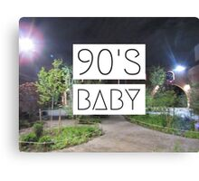 90's Baby Part II Canvas Print