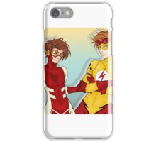 Young Justice Speedsters iPhone Case/Skin