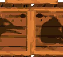 Donkey Kong Country - Animal Crates Sticker