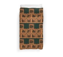 Donkey Kong Country - Animal Crates Duvet Cover