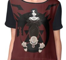 Fullmetal Alchemist- Lust and Gluttony Chiffon Top