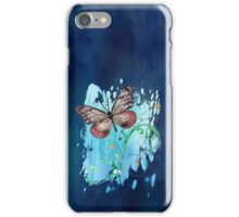 Watercolour Butterfly 07 iPhone Case/Skin