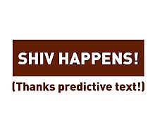 Shiv Happens Photographic Print