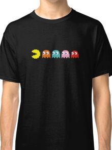 Pac Man and Ghosts Classic T-Shirt