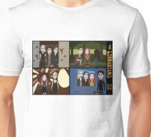 Librarians & the Magical Scenes of S2, pt I Unisex T-Shirt