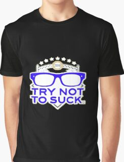 Smart Zone Try Not To Suck Chicago Cubs Maddon Men's T-Shirt Graphic T-Shirt