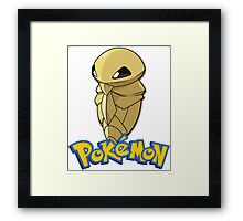 pokemon kakuna Framed Print